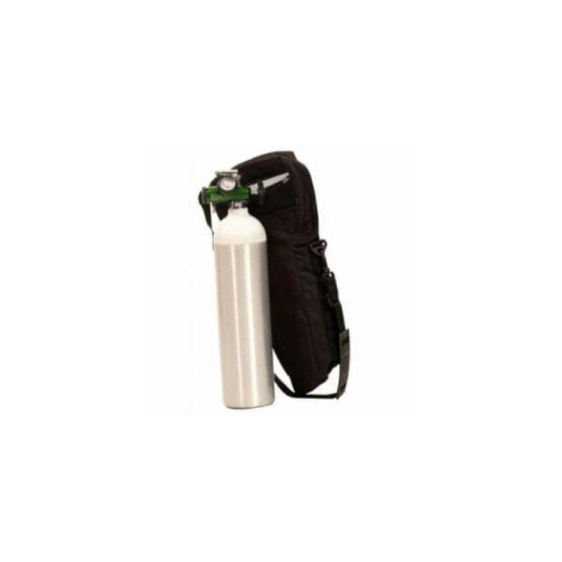 Cilindro de oxigeno de 415L con maletin
