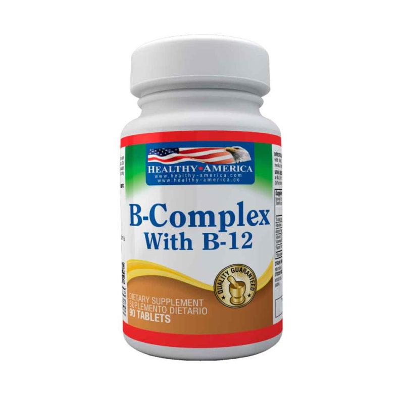 VITAMINA B COMPLEX x90 HEALTHY AMERICA