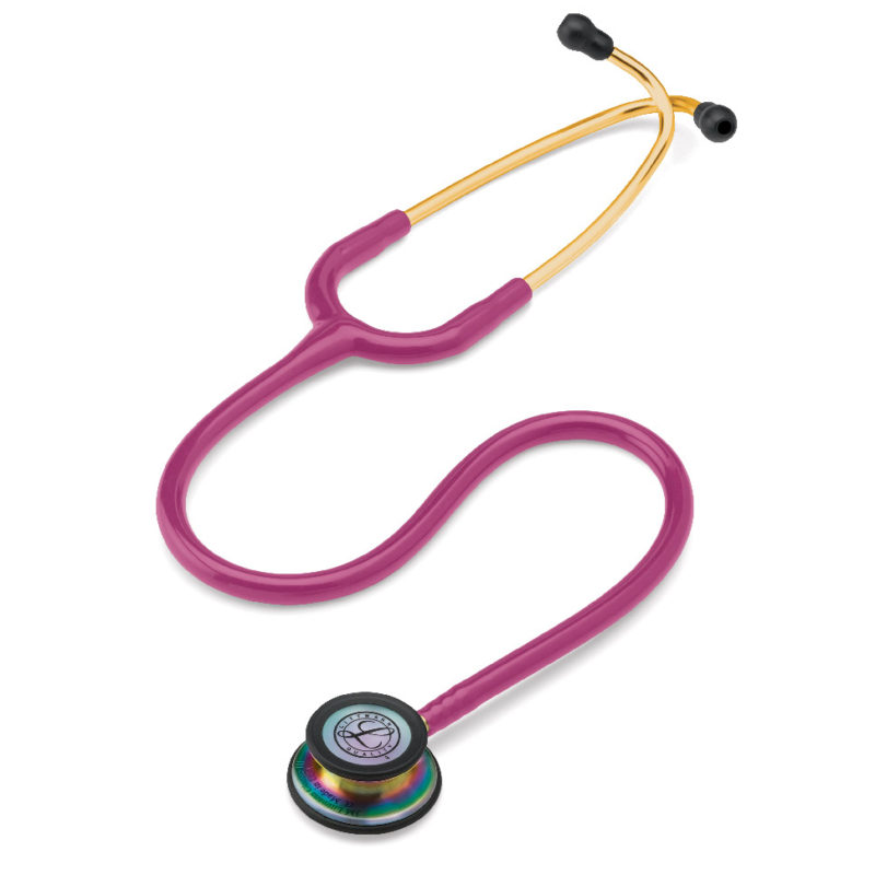 FONENDO CLASSIC III LITTMANN RASPBERRY RAINBOW FINISH