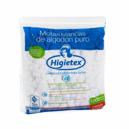 ALGODON MOTAS HIGIETEX 500G