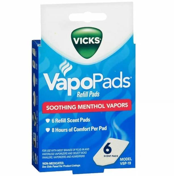 PASTILLAS VAPORIZADO x6ud VAPOPADS VICKS