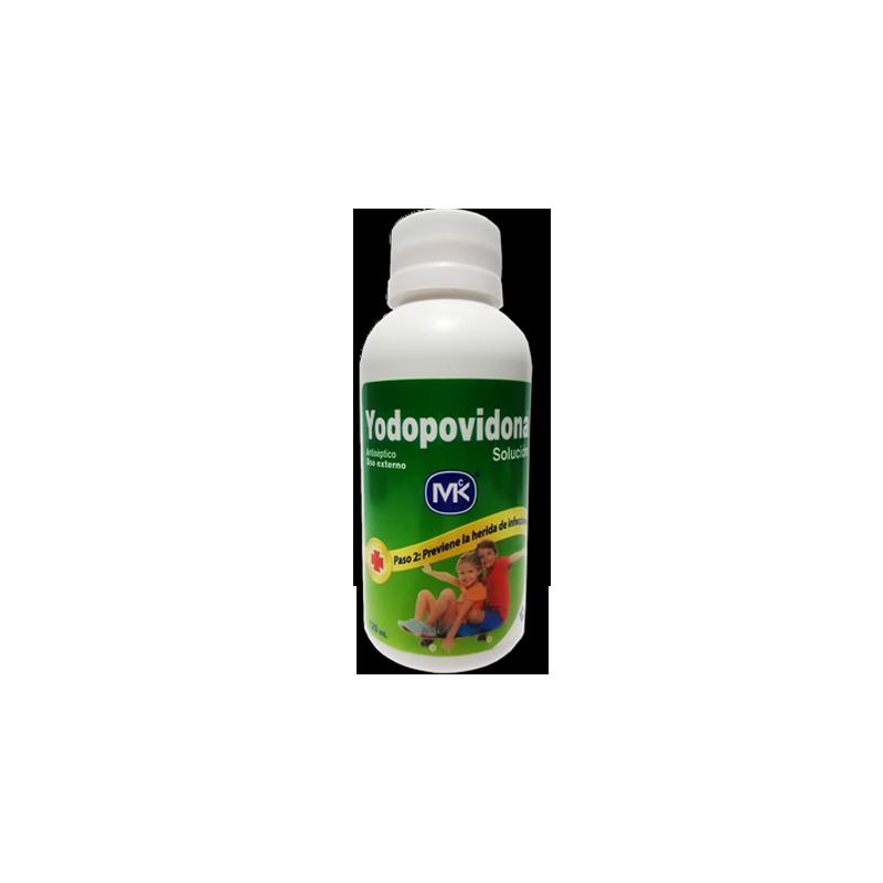 yodopovidona solución MK120 ML