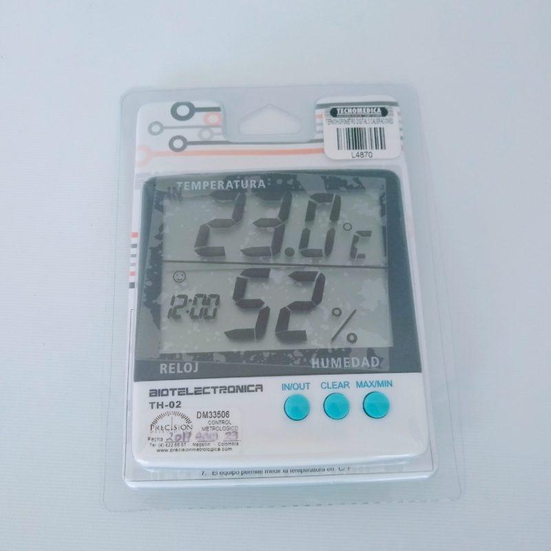 TERMOHIGROMETRO DIGITAL 3 CALIBR TH-02