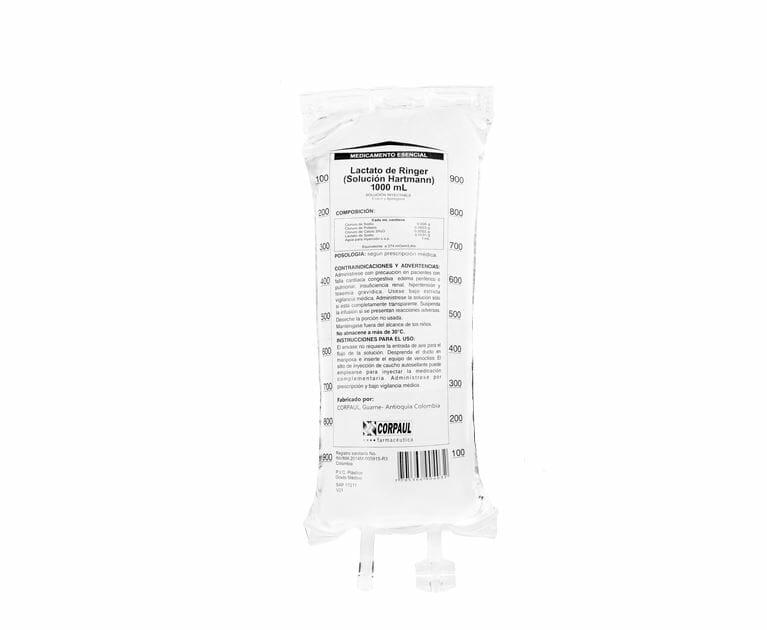 SOLUCION HARTMAN PVC CORPAUL 1000ml