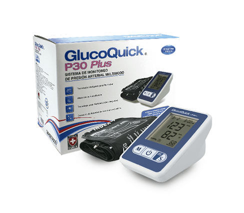 TENSIOMETRO DIGITAL P30 GLUCOQUICK