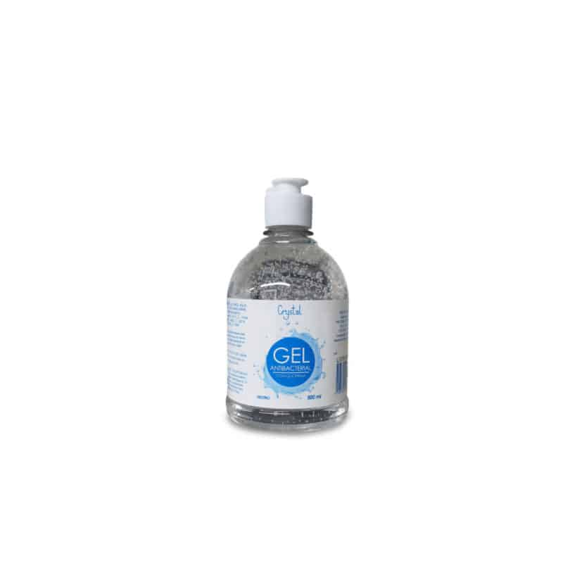 Gel antibacterial glicerinado crystal
