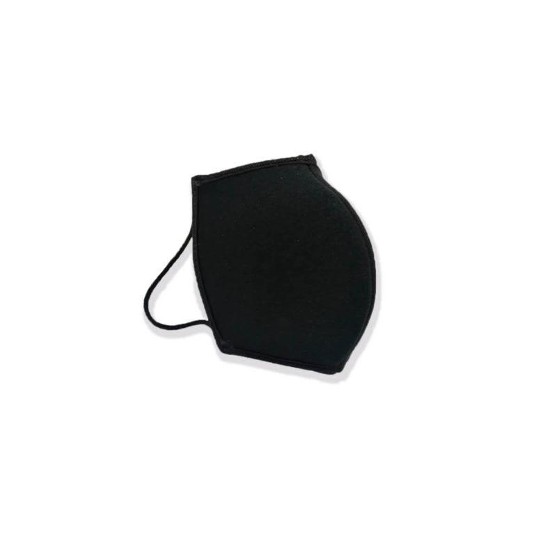 Tapabocas negro antifluidos