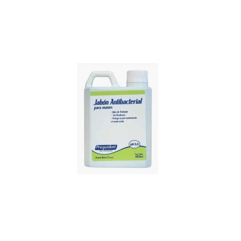 Jabón antibacterial sin triclosán